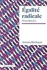 Egalité radicale - Diviser Rancière