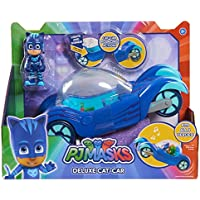 PJ Masks Vehículo Deluxe gatauto y gatuno, Color Azul (Just Play 24621)