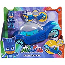 PJ Masks Vehículo Deluxe gatauto y gatuno, Color Azul (Just Play ...