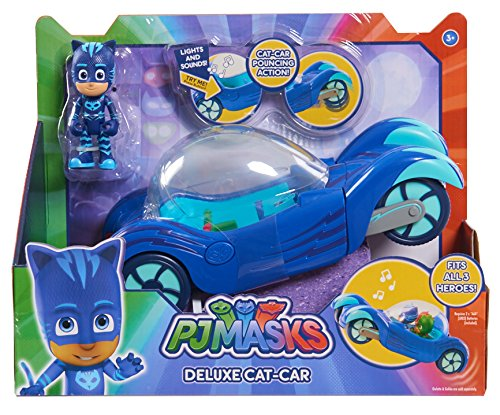 PJ Masks Vehículo Deluxe gatauto y gatuno Color Azul Just Play 24621