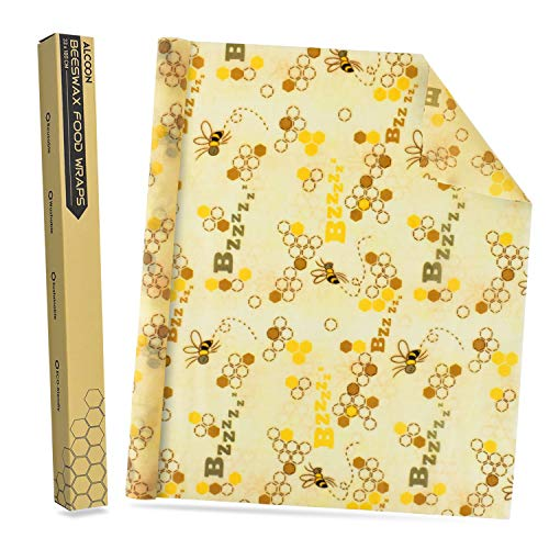 Alcoon Beeswax - Rollo papel cera abeja reutilizable