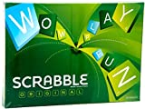#1: Mattel Scrabble Board Game, Multi Color