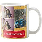 Giftscolour Personalised Coffee Mugs, Photo Mug, Birthday Mugs & Ceramic Mugs With Photo And Caption Gift For Husband,gift For Wife,gift For Dad,gift For Mom,gift For Brother,gift For Brother,gift For Boyfriend,gift For Girlfriend,gift For Friend