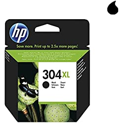 HP 304XL - Cartucho de tinta original de alta capacidad negro, color negro