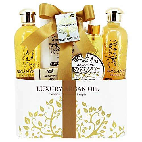 Scopri offerta per Gloss! Set da regalo con prodotti da bagno all'olio di Argan 6 pz. 1 2 kg