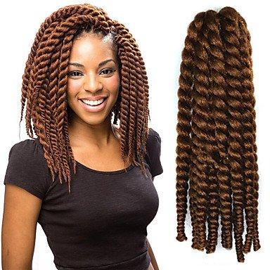 GANTA @ 12-24 Zoll Häkelarbeit Flechten Havana Mambo Afro Twist Haarverlängerung 30 # , #30