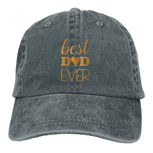 Unisex Baseball Cap, Best Dad Ever Father's Day Perfect Hat,Custom Hat,DIY Hat Snapbacks for Outdoor Indoor Sporting Deep Heather Custom Fit, Vintage-hut