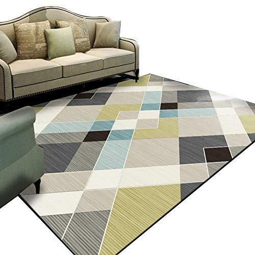 Teppich, flauschiger Teppich, Klassisches Hause Teppich Moderne Geometrische Nordischen Stil Multifunktional Für Wohnzimmer Sofa Schlafzimmer Zum Entspannen Lesen Multi Farben Teppich In Verschiedenen -