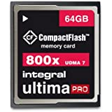 Integral UltimaPro CompactFlash Carte mémoire 800 x 64 Go