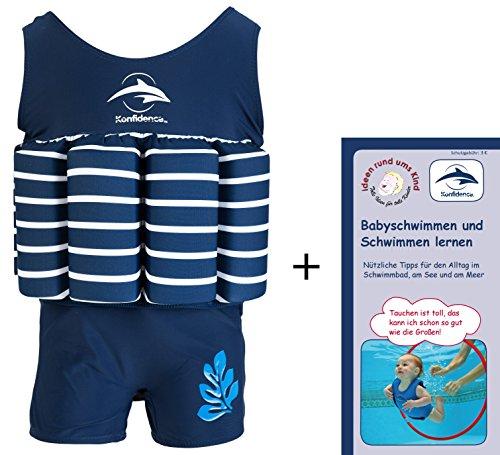 Float Suit, BS-1-2, Blau-gestreift, 1-2 Jahre