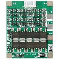Akozon Tablero de protección de batería de litio de 4S 50A Placa PCB de BMS de batería de LiFe de 3.2V