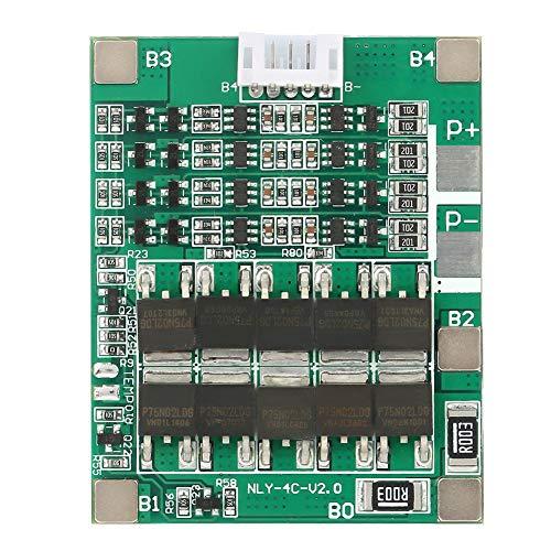 Scheda di protezione della batteria Li, scheda di protezione della batteria Li 4S 50A Protezione da sovraccarico del circuito stampato BMS per batteria LiFe da 14 V serie 14 celle Li-io