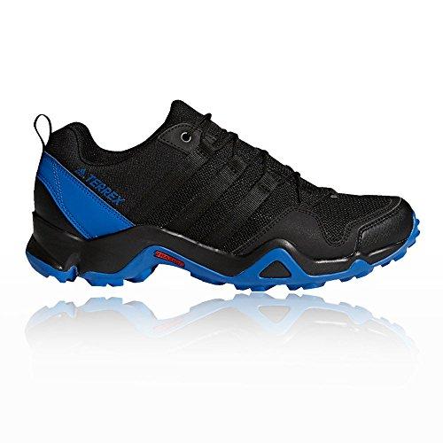 Adidas Terrex Ax2R, Zapatillas de Senderismo para Hombre, Negro (Negbas/Negbas/Belazu 000), 42 EU