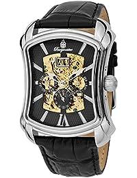 Burgmeister Wisconsin BM113-122 - Reloj de caballero automático, correa de piel color negro