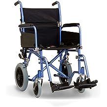Transporte de tránsito plegable bajo costo Attendant–Silla de ruedas