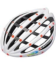 HYF-Aegis Nuevo enfriamiento abajo / aluminio + esqueleto de fibra de casco ligero, casco de bicicleta de montaña una formación de alto rendimiento esqueleto estructura de equipos de protección de la bicicleta , Blanco