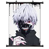 Tokyo Ghoul Anime Fabric Wall Scroll Poster (16x21) Inches