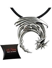 etNox by ECHT - Fantasy Dragon - Drachenanhänger - 925 Sterling Silber