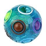 Kinder Erwachsene Luminous Stressabbau Magie Regenbogen Ball Spaß Cube Zappeln Puzzle Bildung Spielzeug