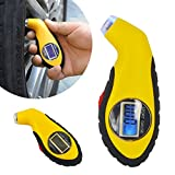 #5: amiciKart® Digital LCD Tire Air Pressure Gauge for Auto, Car, Motorcycle with Backlight