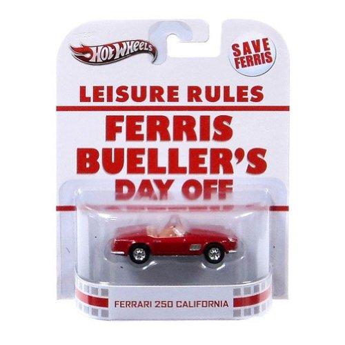 Hot Wheels Retro Ferris Bueller's Day Off 1:55 Die Cast Car Ferrari 250 California by Hot Wheels