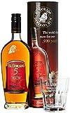 El Dorado 5 Years Old mit Geschenkverpackung mit Glas  Rum (1 x 0.7 l)