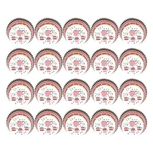 shyyymaoyi Papierförmchen für Cupcakes, Cupcakes, Muffins, Party-Dekoration, 100 Stück 7#