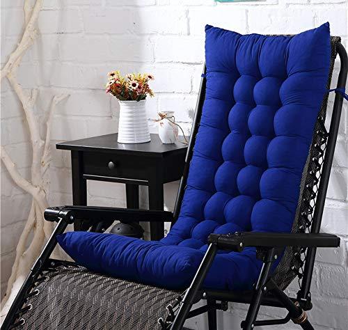 Jumbo-körper-kissen (Schaukelstuhl Kissen Outdoor-Stuhl, Kissen, entspricht Körper Ideal für langes Sitzen-Ideal für den täglichen Gebrauch, 8cm Dick, Textil, K, 48x125cm(19x49inch))