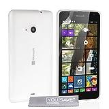 Yousave Accessories® Custodia per Microsoft Lumia 535, Trasparente