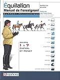 Equitation - Manuel de l'enseignant : Galops 1 à 7 cheval et poney