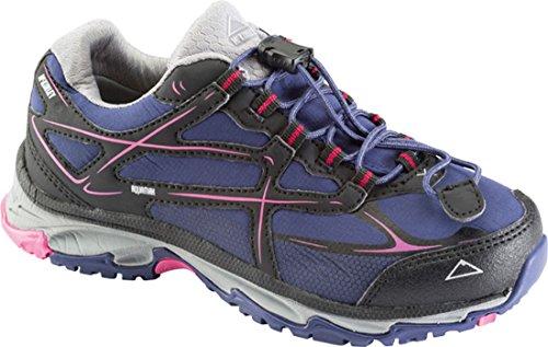 McKinley Chromosome II LOW AQX Jr. Chaussures multifonction pour enfant Bleu marine/rose lilas
