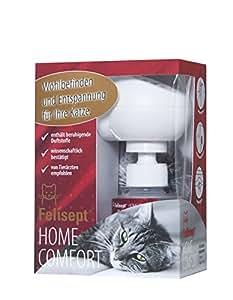 Quiko 250800 Felisept Home Comfort Set – Beruhigung für Katzen (Diffusor + Flakon 30 ml)