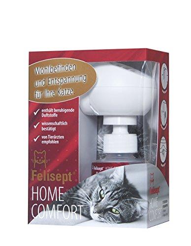 Felisept Home Comfort Set - Wohlbefinden und Entspannung für Katzen und ihr Zuhause mit natürlicher Katzenminze (Starter Kit: Diffusor + Flakon 30ml) Test