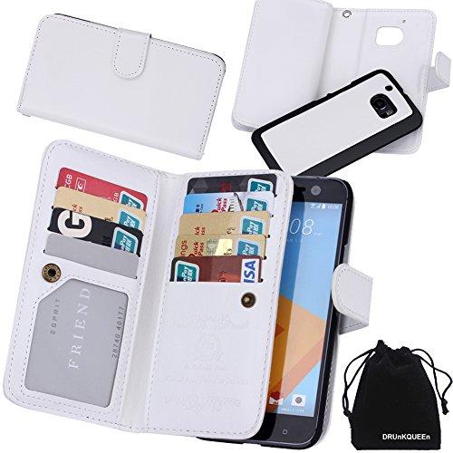 htc-10-case-drunkqueen-premium-leather-credit-card-holder-feature-wallet-type-flip-folio-case-detach