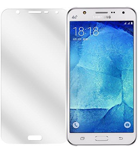 dipos Samsung Galaxy J7 Schutzfolie (6 Stück) - kristallklare Premium Folie Crystalclear