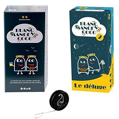 Pack Jeu Blanc Manger Coco 1 + Blanc Manger Coco 2 ' Le Déluge + 1 Yoyo Blumie