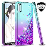 LeYi Case for Huawei Y6 2019/Honor 8A with Tempered Glass