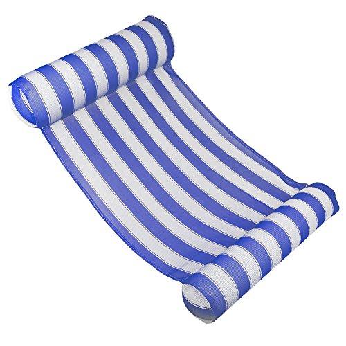 Rechteck-matte Stuhl (Mongrep Wasserhängematten-Swimmingpool-Strand-Sich hin- und her bewegende Recliner-Nichtstuer-Floss-Stuhl-aufblasbare PVC-Schwimmen-Matte. Es können bis zu 250 Pfund verarbeitet Werden.)