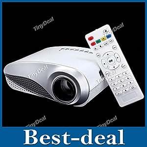 MU H60 LED 3D Portable Multimedia Projecteur LCD Home Cinema HD projecteur HDMI VGA TV USB AV Full HD 1080p Proyector Beamer Projetor