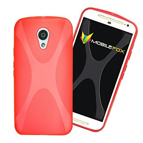 X Style Housse de protection bumper Coque de UltraSlim Housse Case Cover Coque en silicone rouge