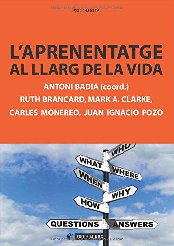 L'aprenentatge al llarg de la vida (Manuals)