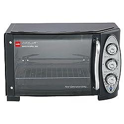 Cello Bake N Grill 200 1500-Watt Oven Toaster Griller (Stainless steel Black)