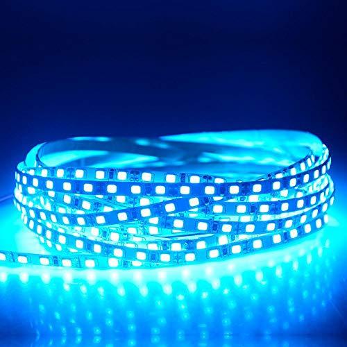 2835 Schmales Led-Streifenlicht 5 Meter 600 Leds Hochlumen-Diodenbandlampe 5 Mm Breite Weiß Rot Blau Grün Golden Eisblau
