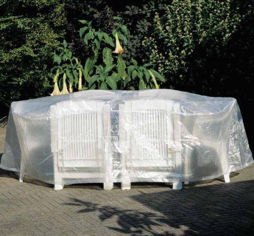 454136 ProfiLine Housse de protection pour mobilier de jardin 230 x 135 x 70 cm ovale