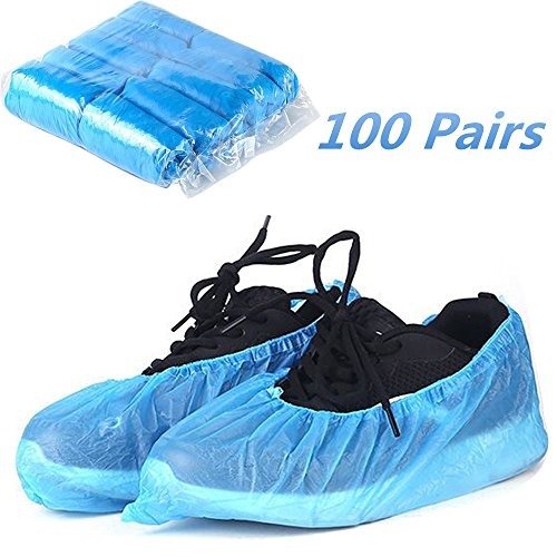 rziehschuhe Blau Überschuhe Schutz dicker rutschfeste Überschuhe für Schuhe und Stiefel zu schützen Teppiche und Böden (/) (Teppich Zu Teppich Schützen)