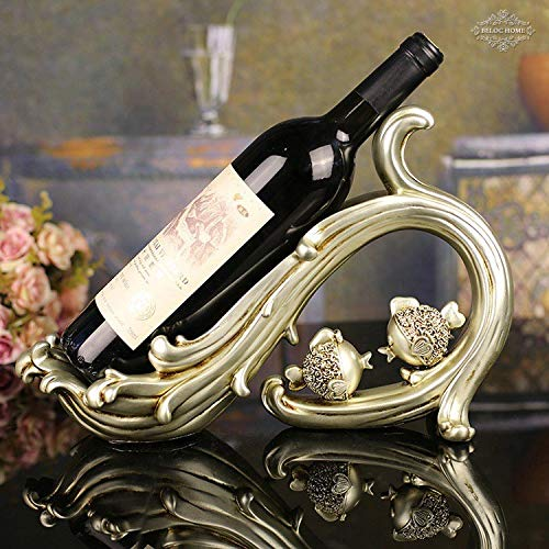 Weinhocker Weinregal HaushaltswarenWellen küssen Fischweinregal, Harz Handwerk Wein Tablett