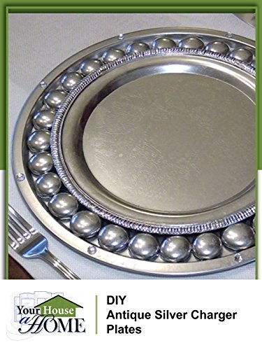 DIY: How To Make Antique Silver Charger Plates [OV] - Design Charger Plate