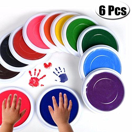os baby tinte pad für baby - fußabdrücke handabdrücke fingerabdrücke kit, perfekt halten baby erinnerung babyparty geschenkt ()