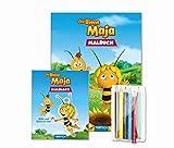 """Malset """"Die Biene Maja"""" mit 6 Bunstiften"""