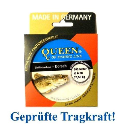 Zielfisch-Schnur Queen of Fishing Line / Dorsch 0,50mm 20,5kg 300m